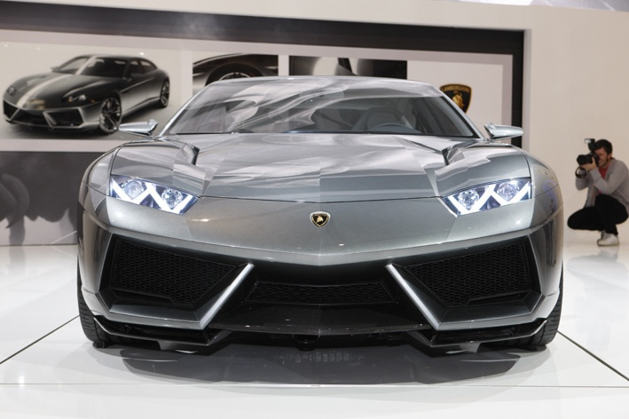 Front Overview Of This Lambo Estoque Car
