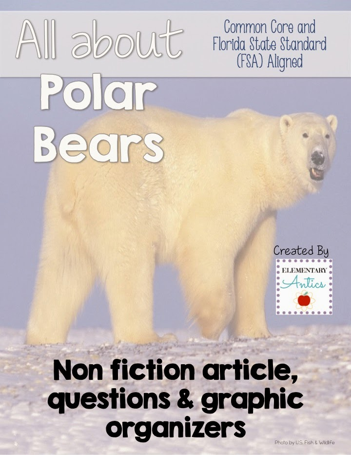 http://www.teacherspayteachers.com/Product/Polar-Bear-Theme-CCSS-FSA-Aligned-Reading-and-LanguageEditing-Practice-1618832