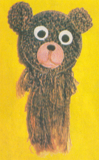 Техника плетения медвежонка в макраме.