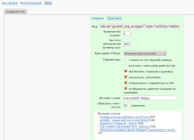 admin interface graddit com