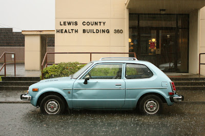 1976 Honda Civic CVCC hatchback