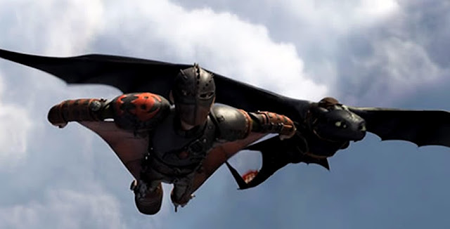 How To Train Your Dragon 2 - Flying