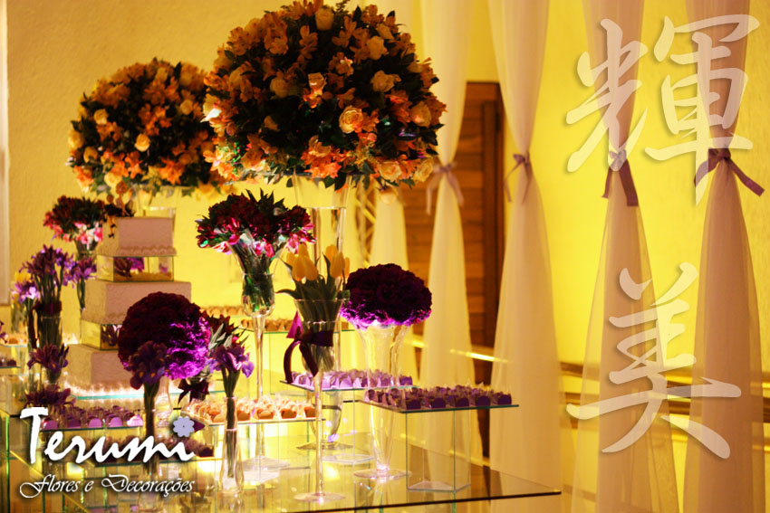 casamento jardim viena:Jardim Viena – Debutante (Amarelo e Roxo)