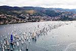 """Per vedere dall'alto la grande regata velica della """"BARCOLANA 2013"""""""