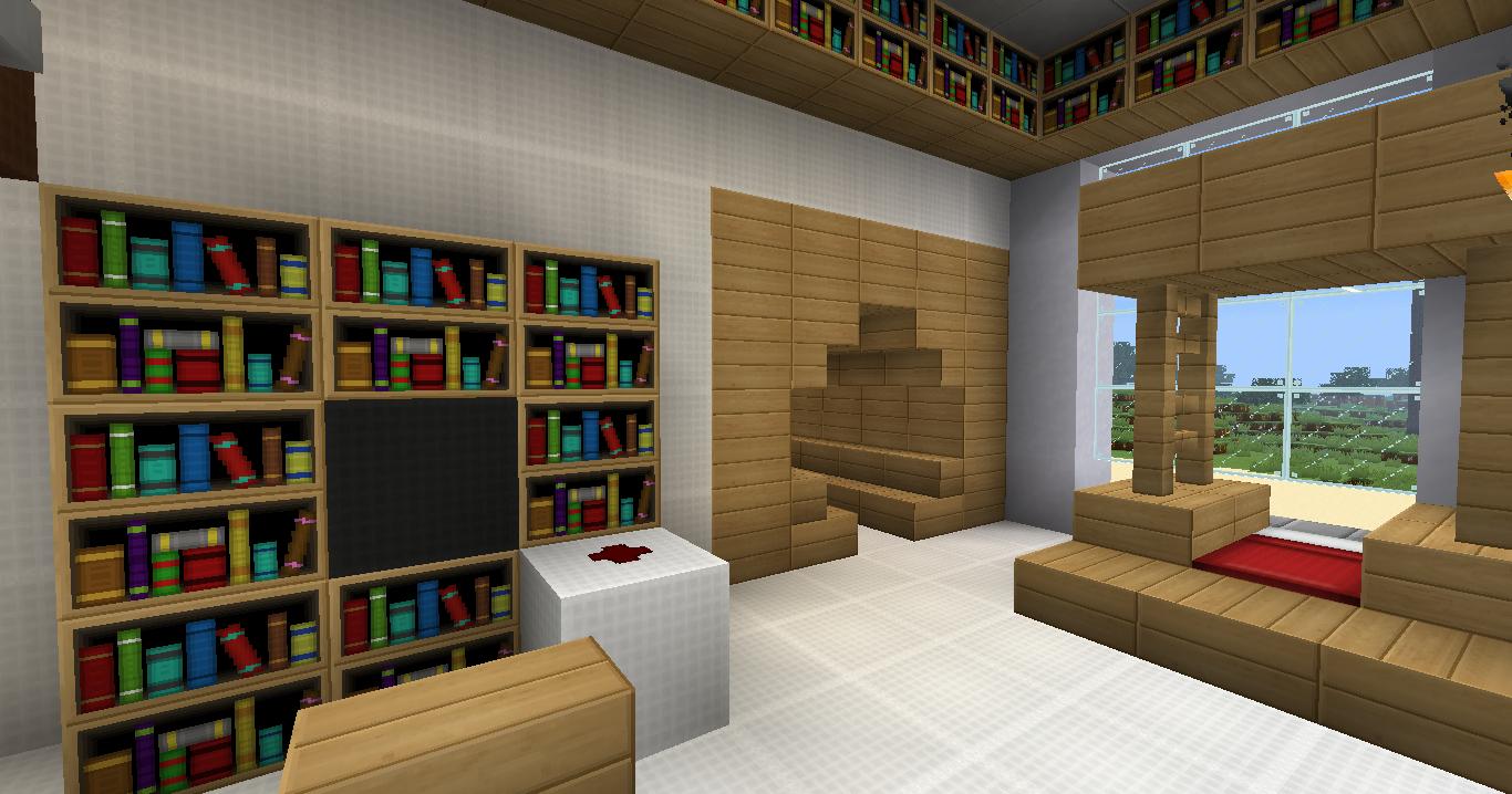Como fazer uma sala de estar no minecraft for Sala de estar no minecraft
