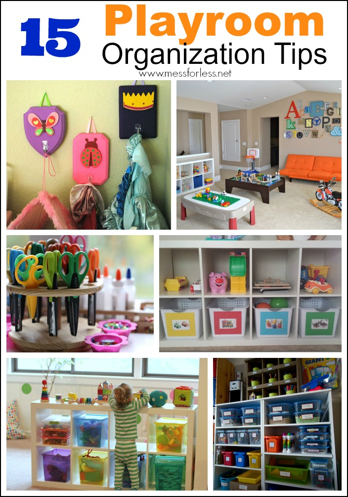 playroom organization tips mess for less
