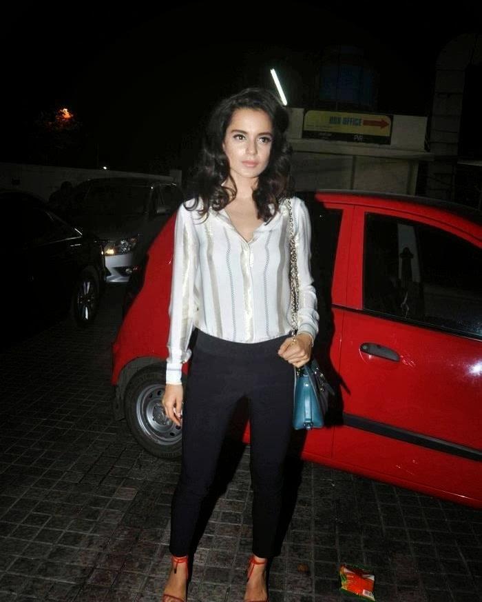 Kangana Ranaut spooted with Kareena Kapoor Khan