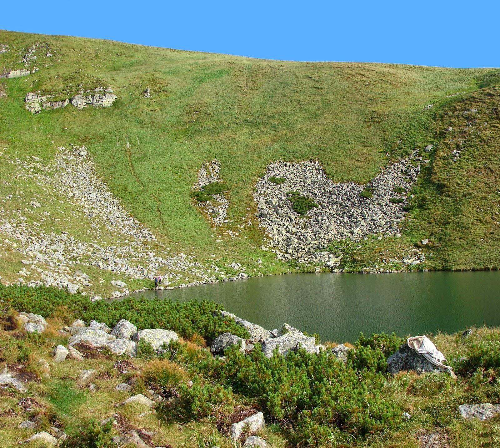 Высокогорные озёра Украины - озеро Бребенескул