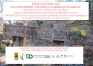 """SÁBADO 28 MARZO RUTA SENDERISMO """"CASTAÑOS Y CHORRERA DE CALABAZAS"""""""