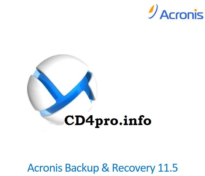 how to create an image with acronis backup and recovery