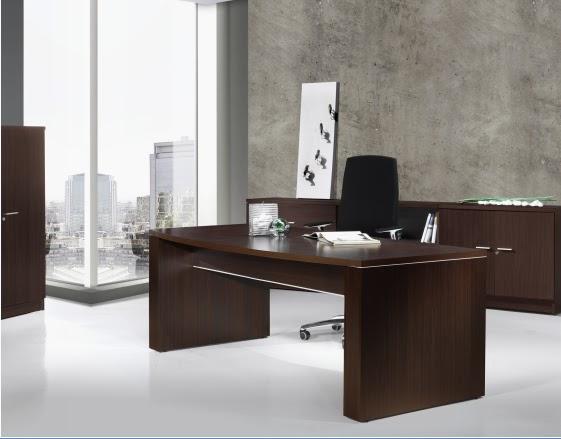 escritorio pc de melamina madera dise os modernos web On diseño escritorios modernos