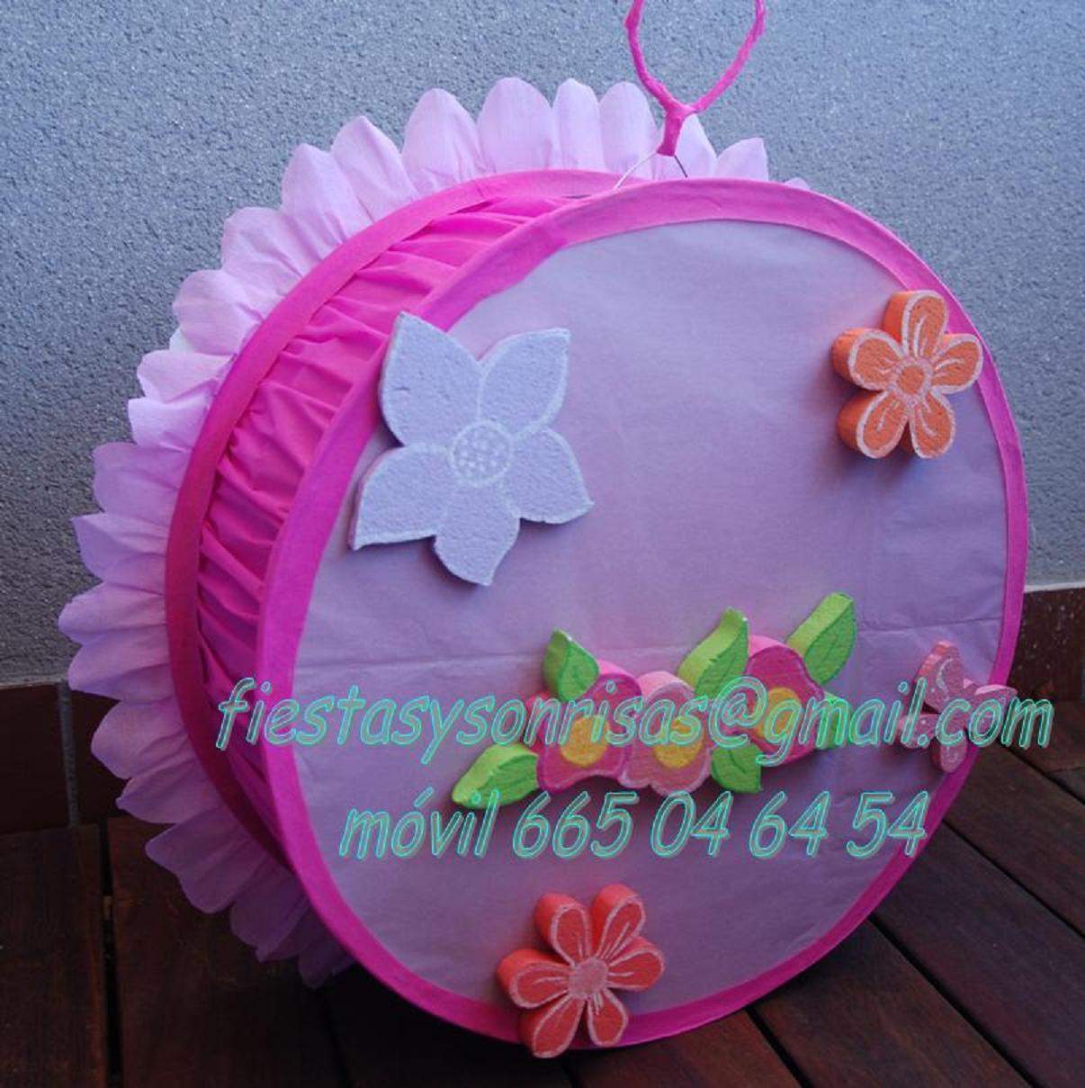 Minnie Decoraciones Fiestas Infantiles ~ Fiestas y Sonrisas Pi?ata y Piruletero de Minnie Mouse