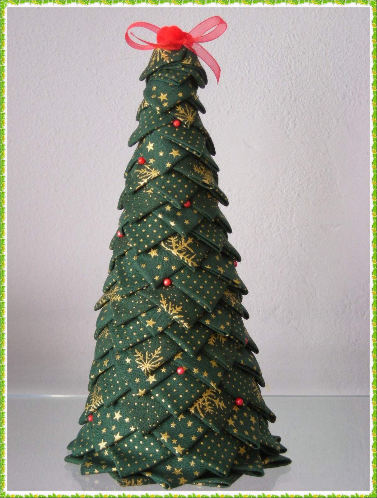 arbol de navidad en tela - Arbol De Navidad De Tela