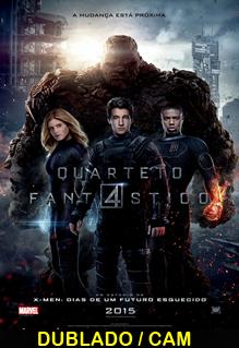 Quarteto Fantástico Dublado 2015