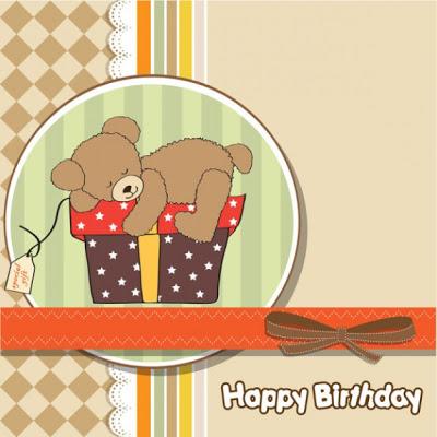 Teddy Happy Birthday
