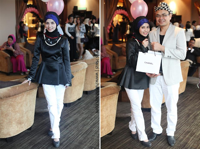 Coco Chanel Dear Hanis Haizi Party by Adibah Karimah dan ddm dr hasbi