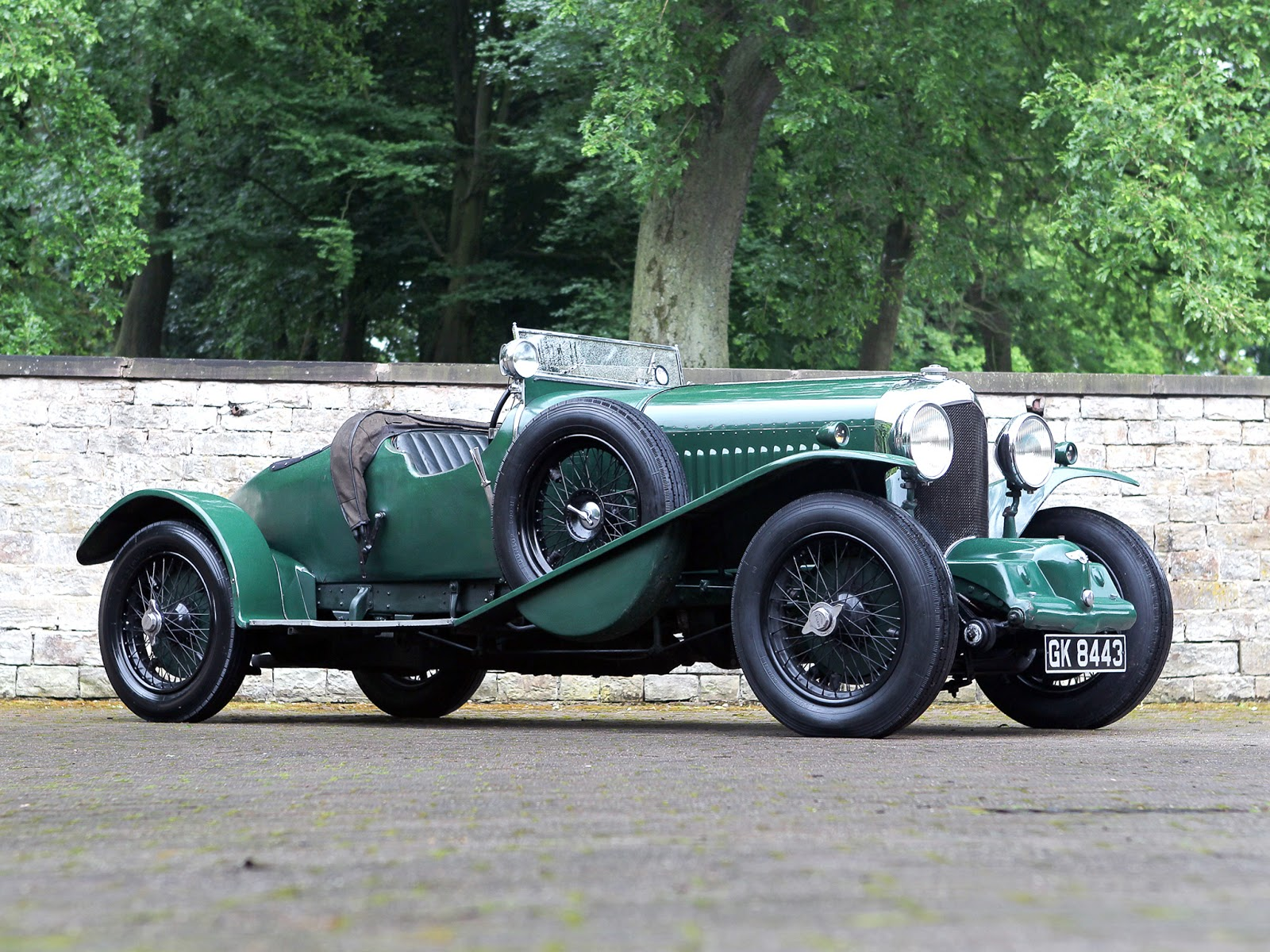Bentley 4 1/2 Litre Supercharged Blower