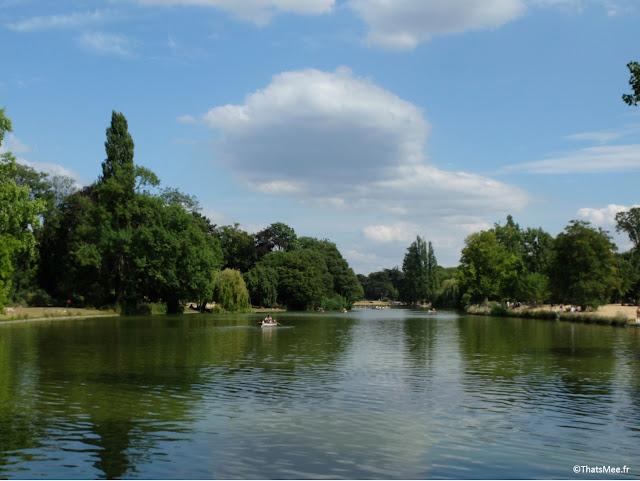 Lac Daumesnil Bois de Vincennes Paris 12ème XII
