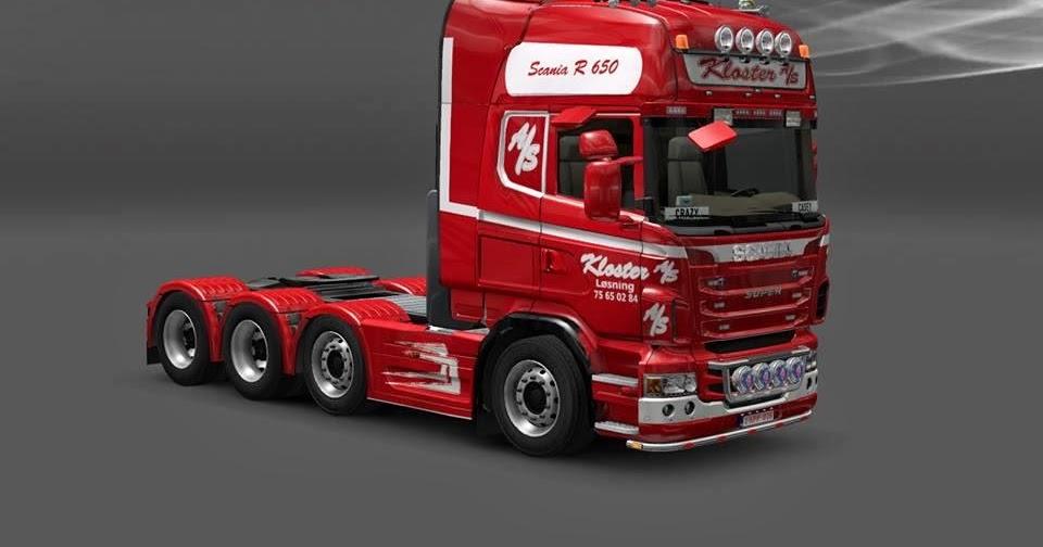 Skin Kloster A S Da Dinamarca Scania Para V 1 8 2 By
