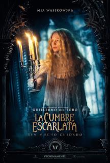 La Cumbre Escarlata Poster Español
