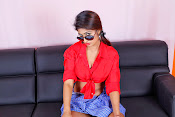 Charulatha Hot Photo shoot in Lungi-thumbnail-15