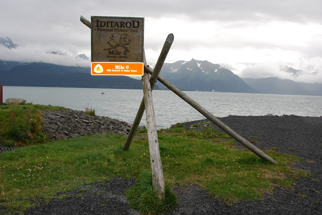 Mile 0 at Seward