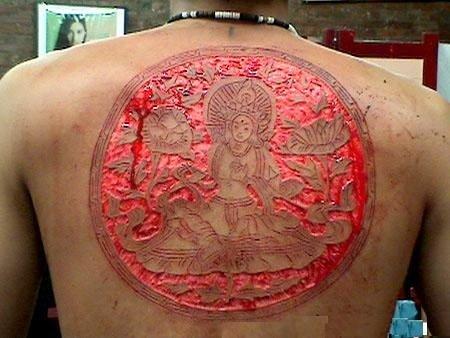 tatto paling ekstrem