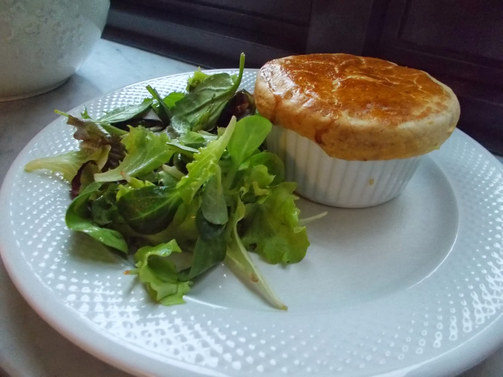 chicken pie in cocotte