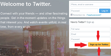 Cara membuat Twitter Singkat dan Mudah