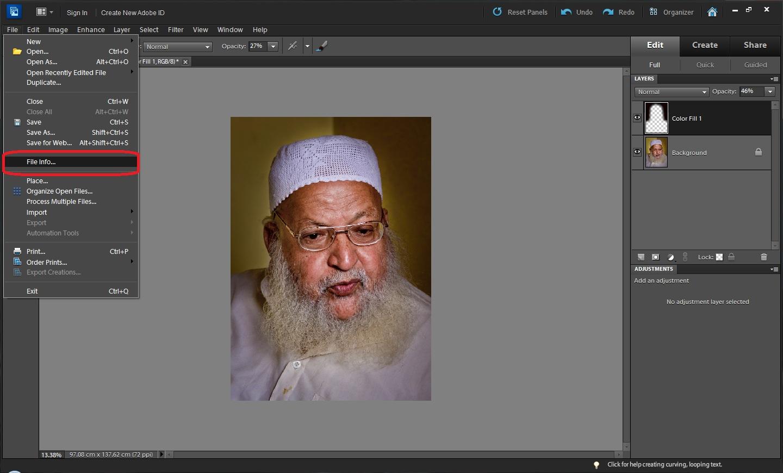 Adobe photoshop temel 10-arka plan rengi değiştirme