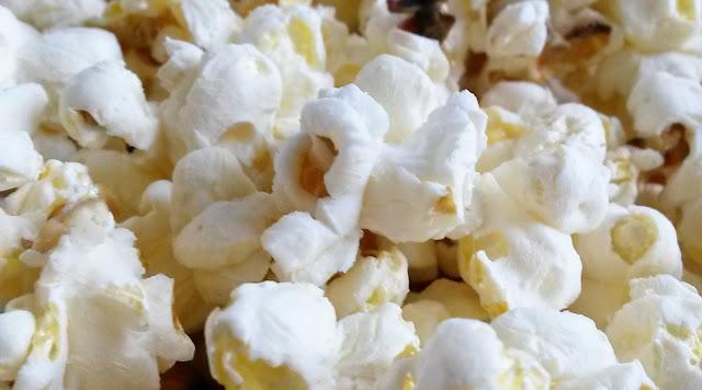 Salty popcorn