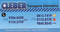 Cleber Transporte Alternativo (Paulo Afonso x Jeremoabo/Ligue)