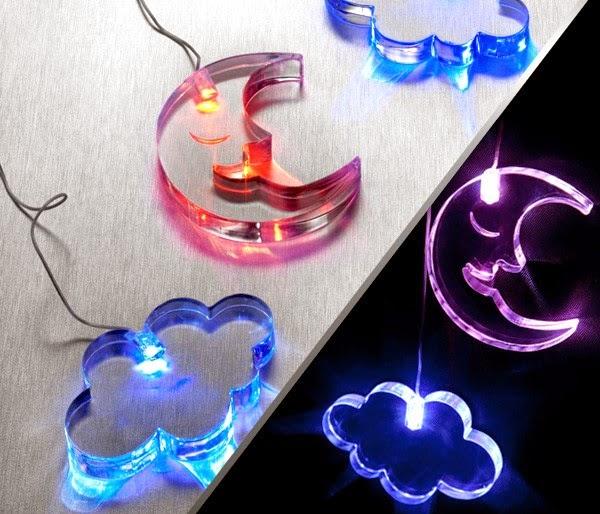 Móviles Luna LED