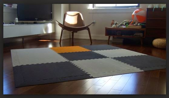 Playing mat for babies