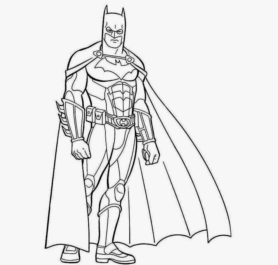 ... Drawing Free Wallpaper: Batman For Kid Coloring Drawing Free wallpaper