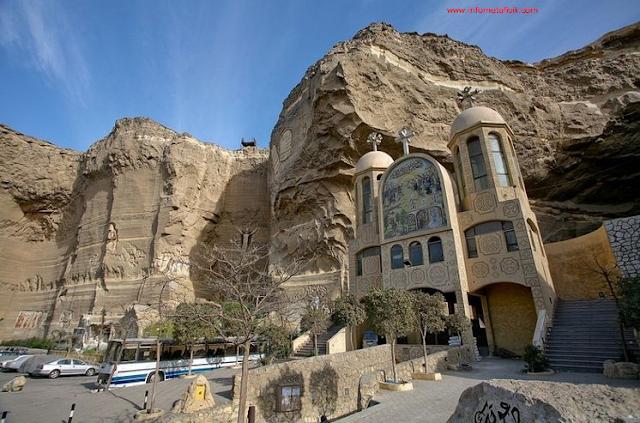 Wow!  Ada Gereja Dalam Gua di Kairo