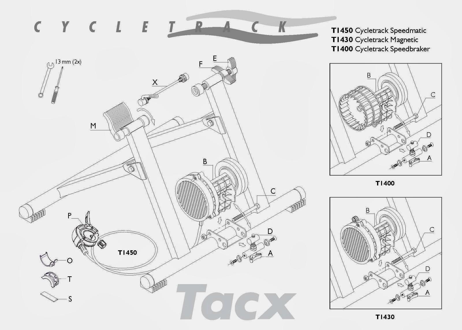 Manual de Instrucciones Tacx T1400