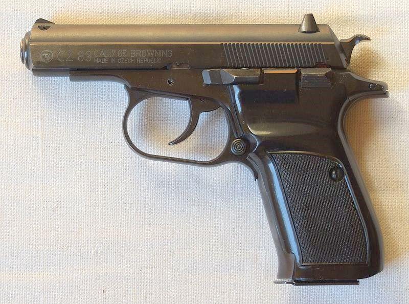 Pistola cz 83 armas de fuego for Pistola para lacar muebles precio