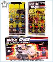 Hasbro G.I.Joe Sgt Slaughter Destro Cobra Iron Genadiers G.I.ジョー Kre-O クレオ