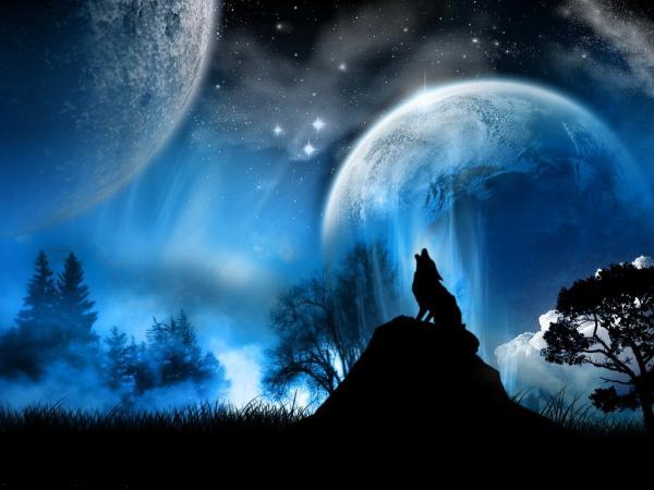 paisajes de noche