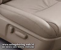 Power Seat Adjuster on Driver Seat