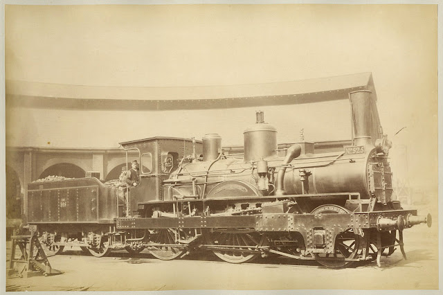 rare vintage photos of french northern railway locomotives