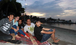 sunset ancol
