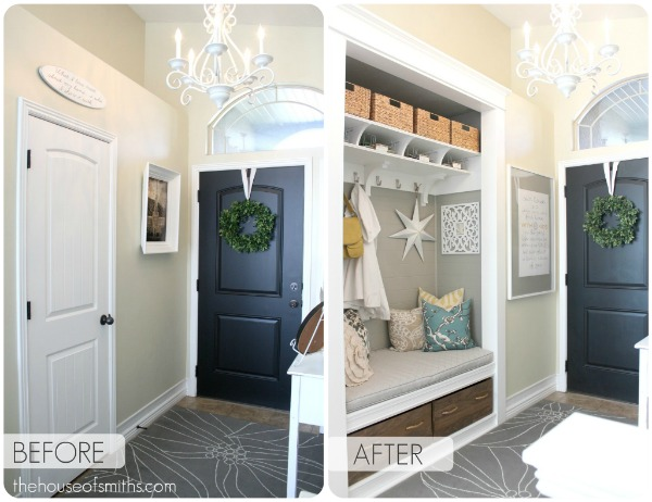 Project: Entryway Closet Makeover - The Reveal!