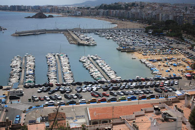 Blanes Marina and beaches