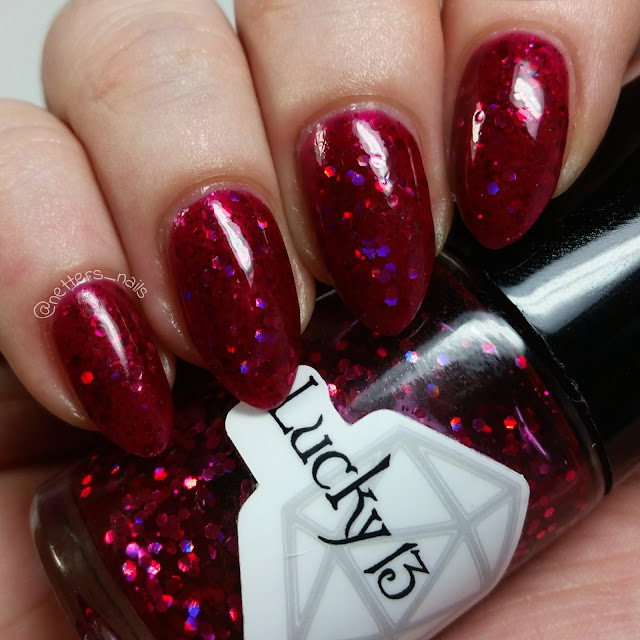 Lucky 13 Lacquer Life Is Short and You Are Hot swatch