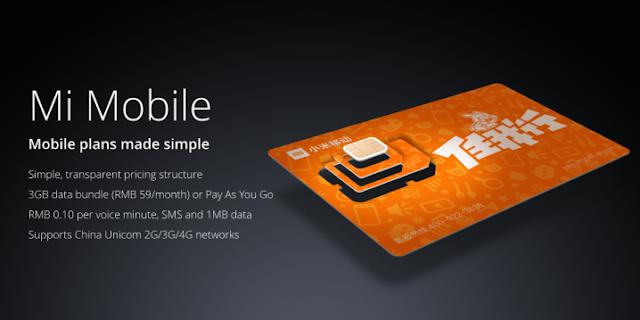 Mi Mobile - Operadora virtual da Xiaomi na China