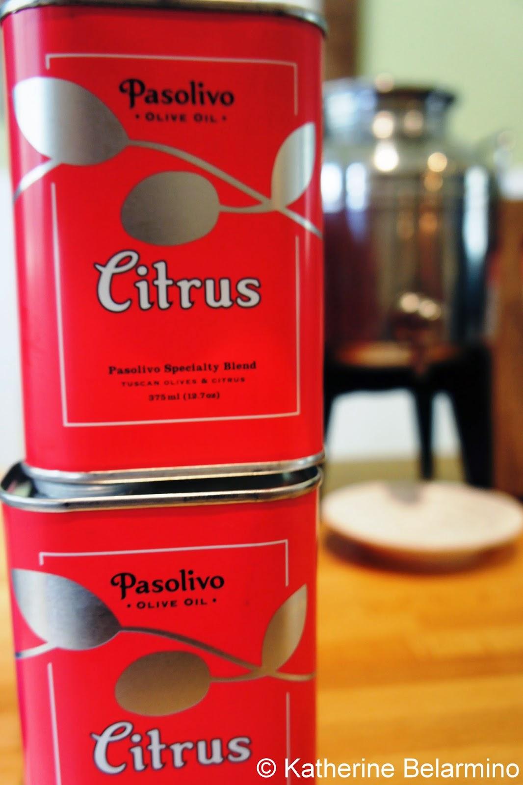 Pasolivo Citrus Olive Oil Paso Robles California