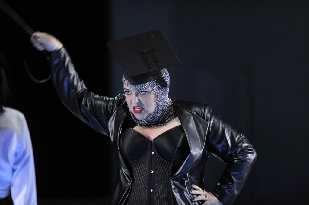 Karina Gauvin in Rinaldo; Glyndebourne Festival 2014; photo Robbie Jack