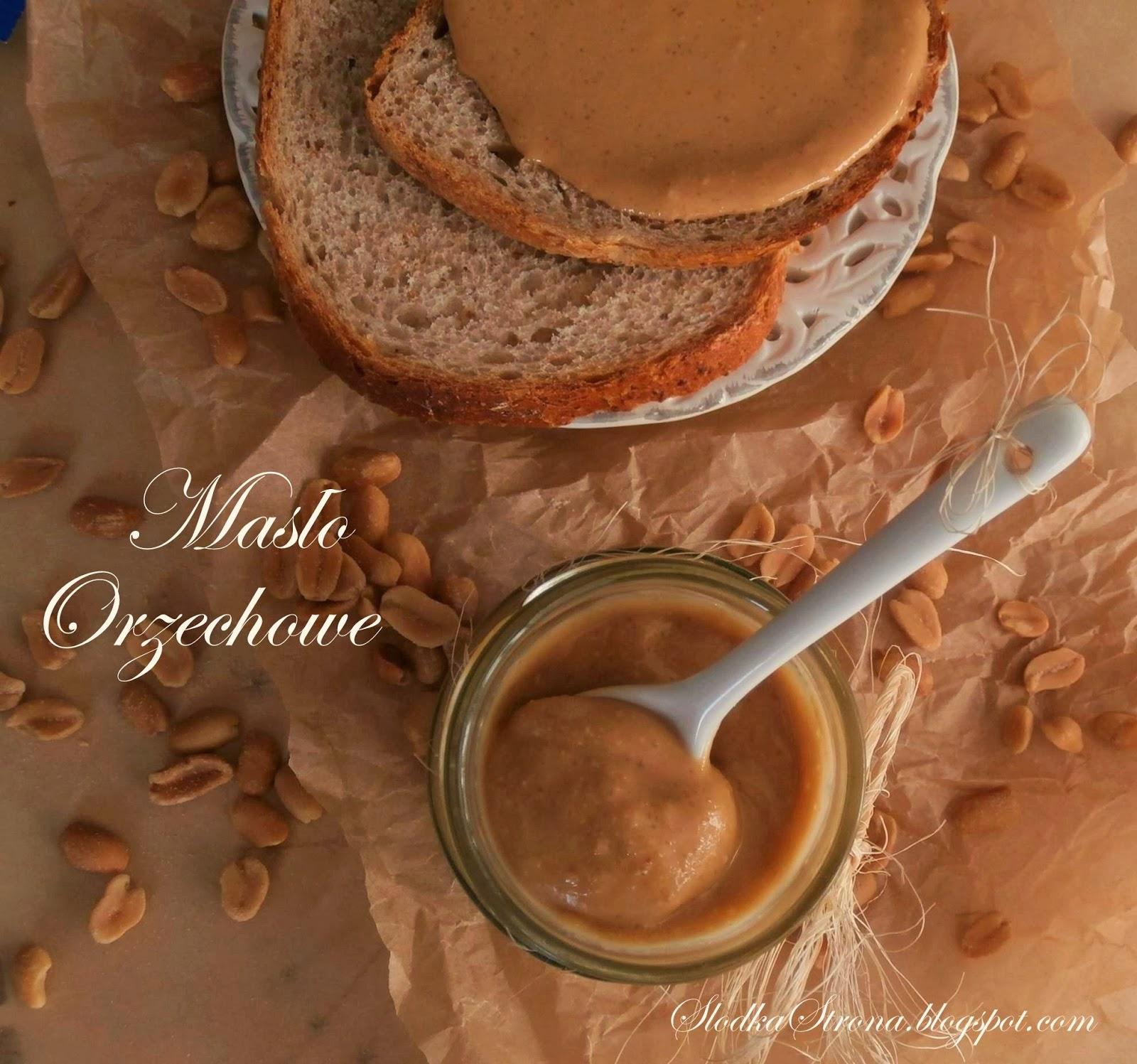 Masło Orzechowe - Przepis - Jak zrobić - Słodka Strona